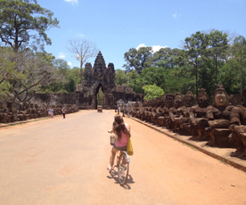 Bike Cambodia from the Angkor temples to Phnom Penh