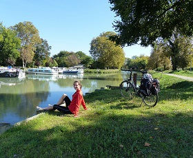 Cycling the Canal de Garonne from Bordeaux to Toulouse