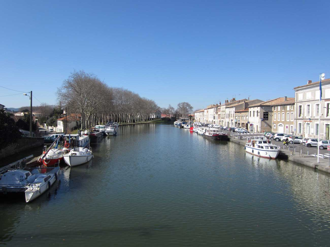 A 4 day cycling holiday along canal du midi le v lo voyageur for Architecte canal du midi