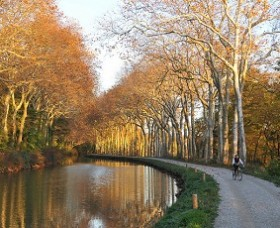 4-day cycle trip from Toulouse to Carcassonne along the Canal du Midi