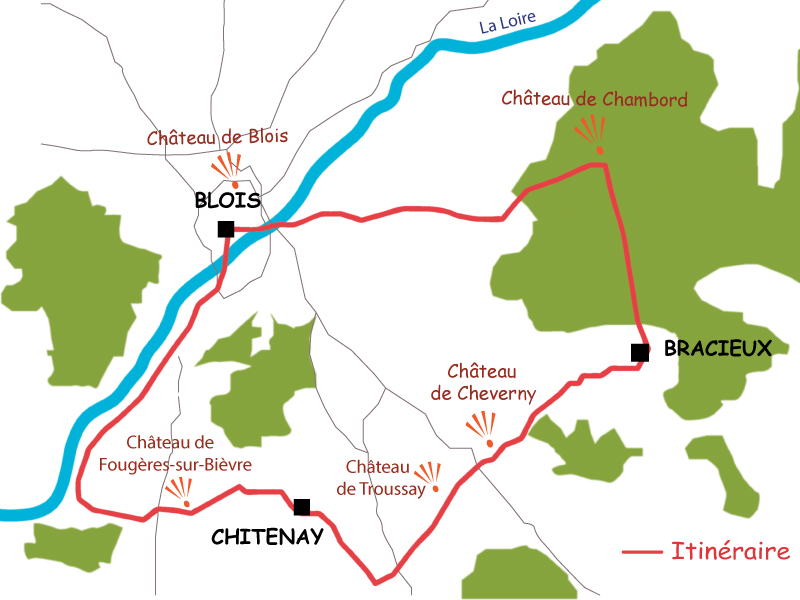 A threedays getaway to discover Blois and his region Le Vlo Voyageur