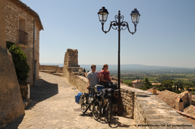 Provence cycling around Orange at the foot of the Mont Ventoux