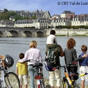 A cycling week in family from Blois to Amboise