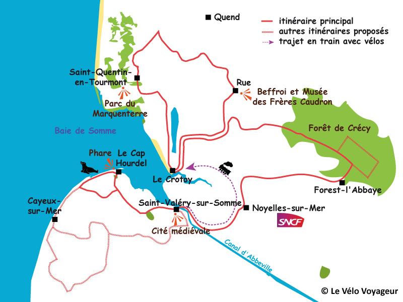 Baie De Somme A Velo 3 Jours A Velo Autour De La Baie De Somme Le Velo Voyageur