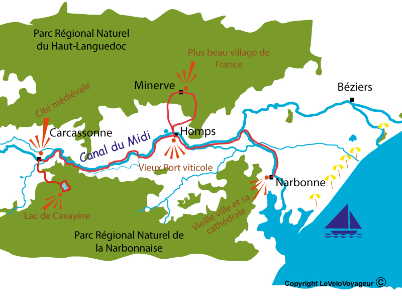 A 4day cycling holiday along Canal du Midi Le Vlo Voyageur