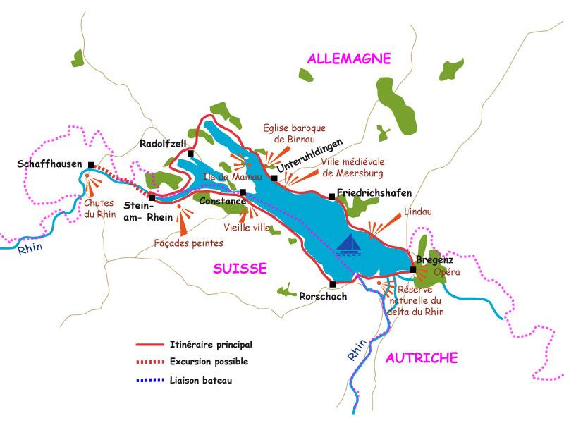 Biking Around Lake Constance The Lake Constance Bike