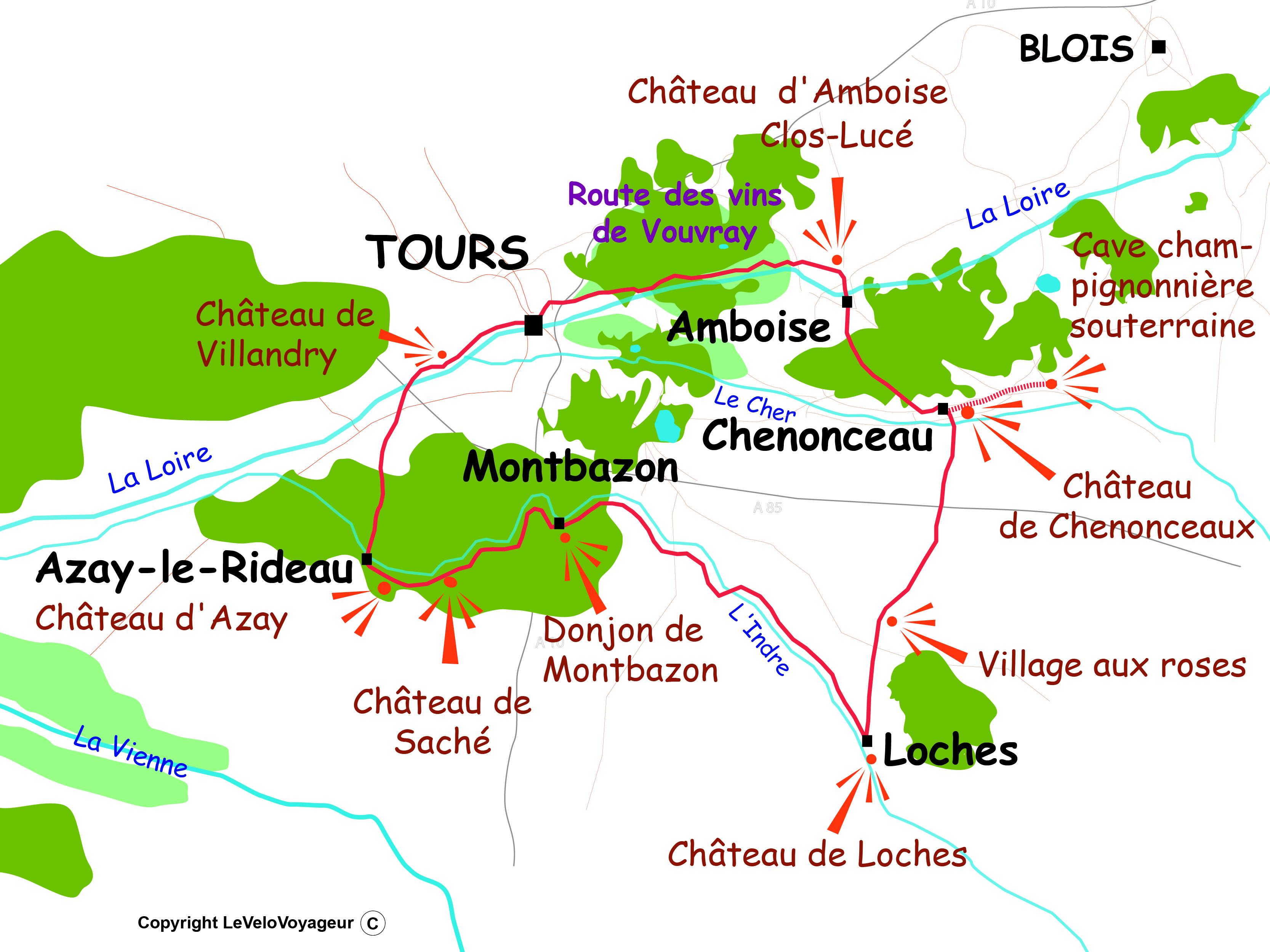 Loop Around The Medieval Loire